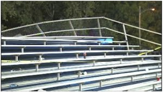 broken bleachers - event response