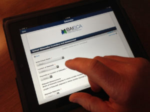 Field data collection on tablet - BAISCA